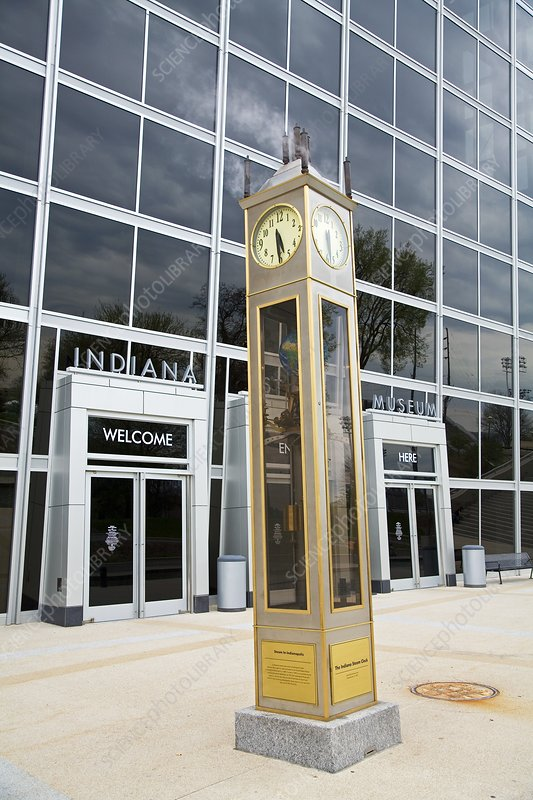 The Indiana Steam Clock