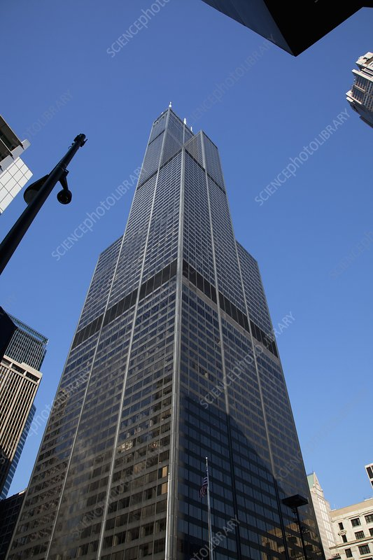 The Willis Tower, Chicago, USA