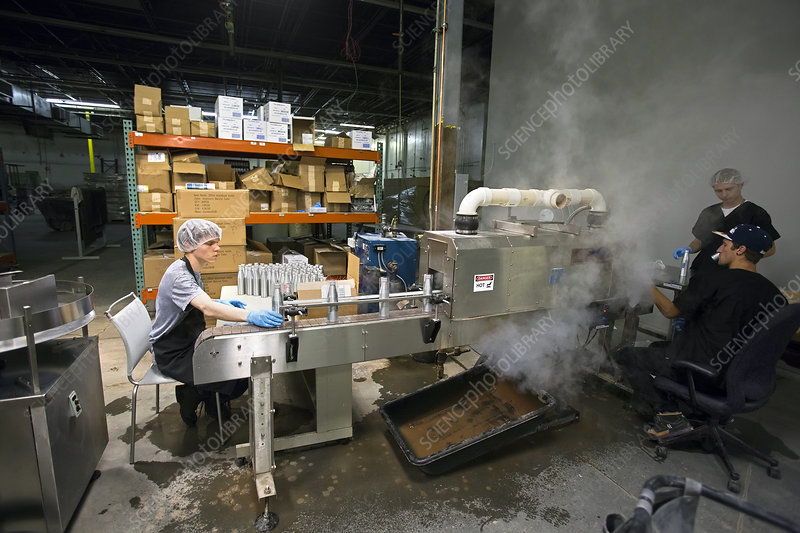 Marijuana products factory