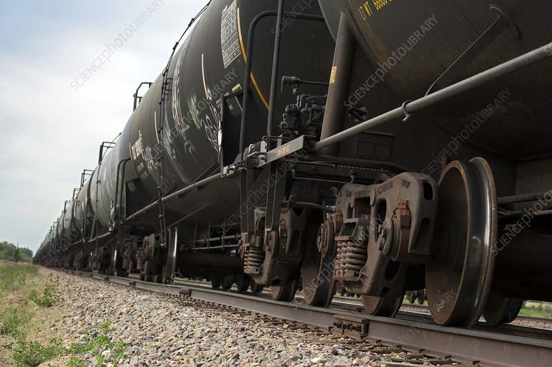 Oil tanker train, USA