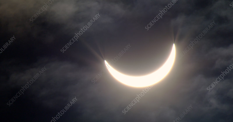Cloudy solar eclipse, 20th March 2015