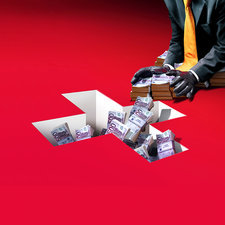 Swiss banking, conceptual image