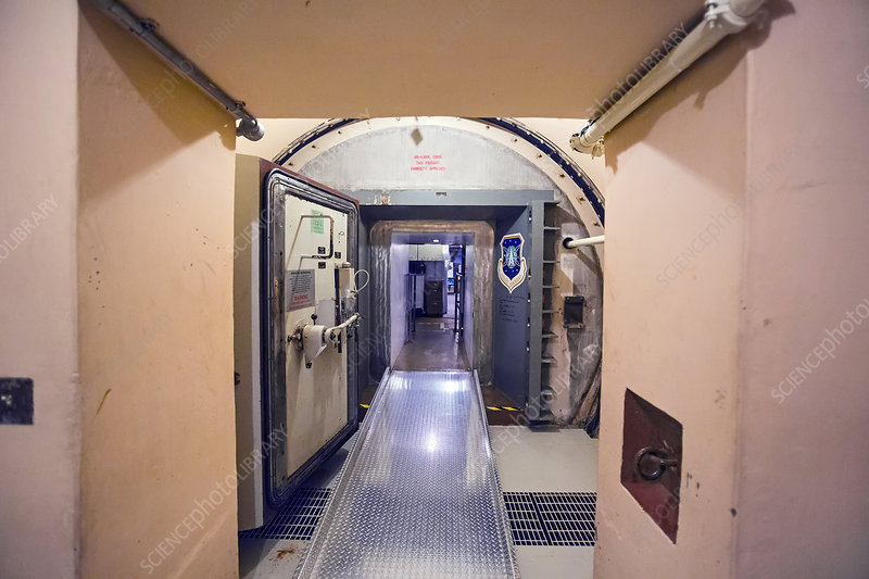 Minuteman missile control facility