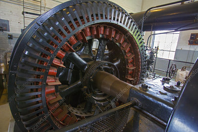Air compressor at an iron ore mine