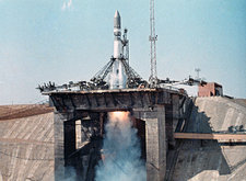 Vostok 1 launch