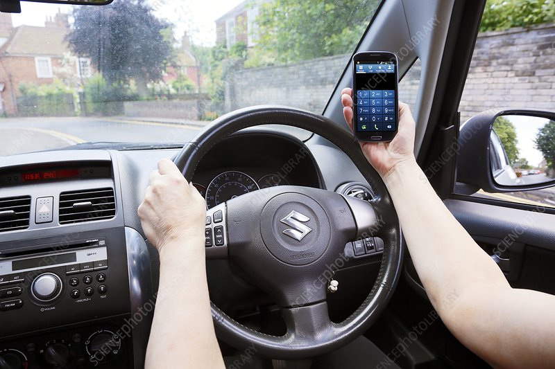 Phone use while driving