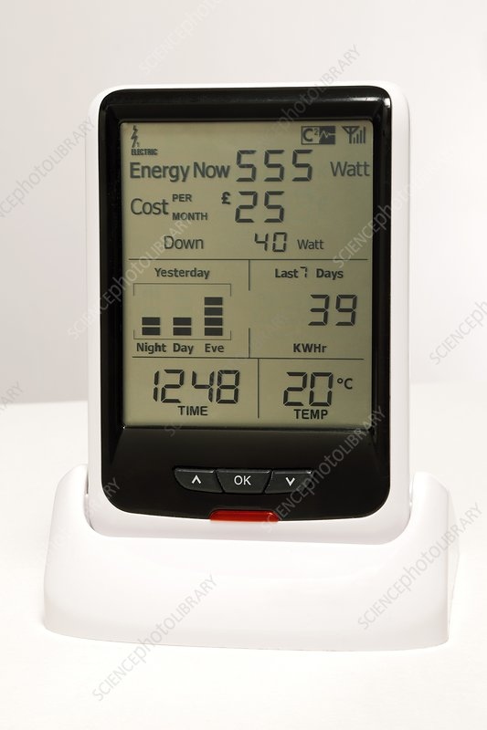 Real-time electricity monitor