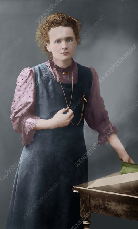 Marie Curie, Polish-French physicist