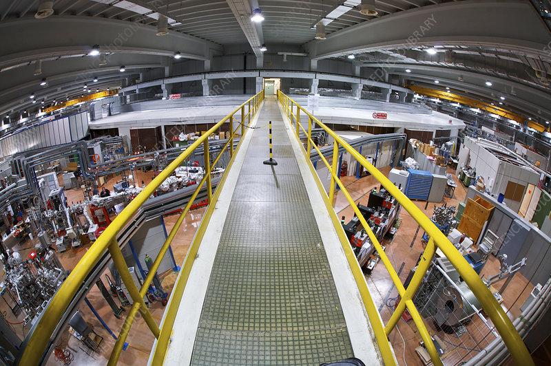 Synchrotron lab, Italy