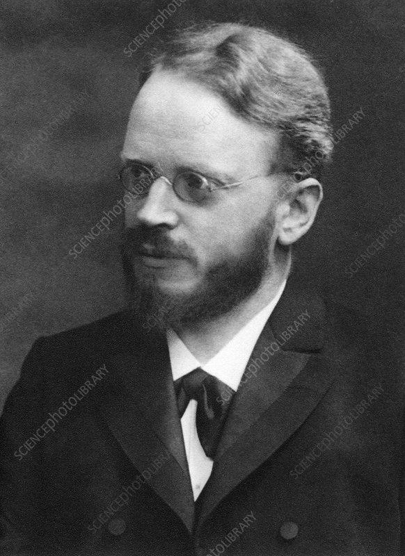 Carl Correns, German geneticist
