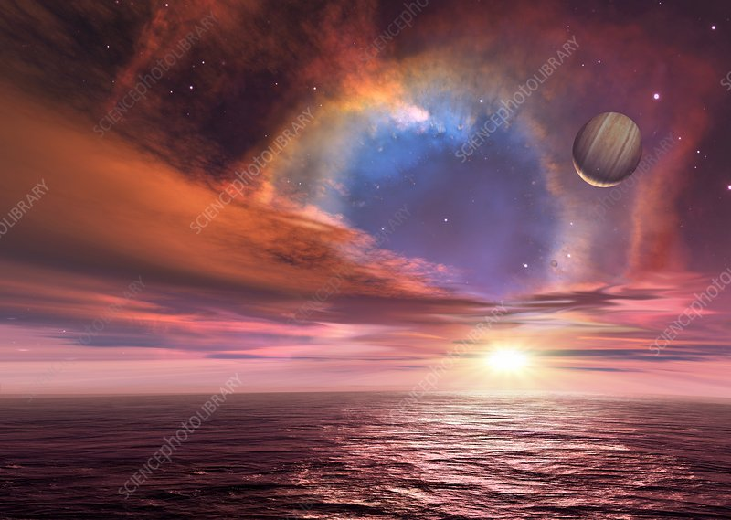 Alien planets and exploding star
