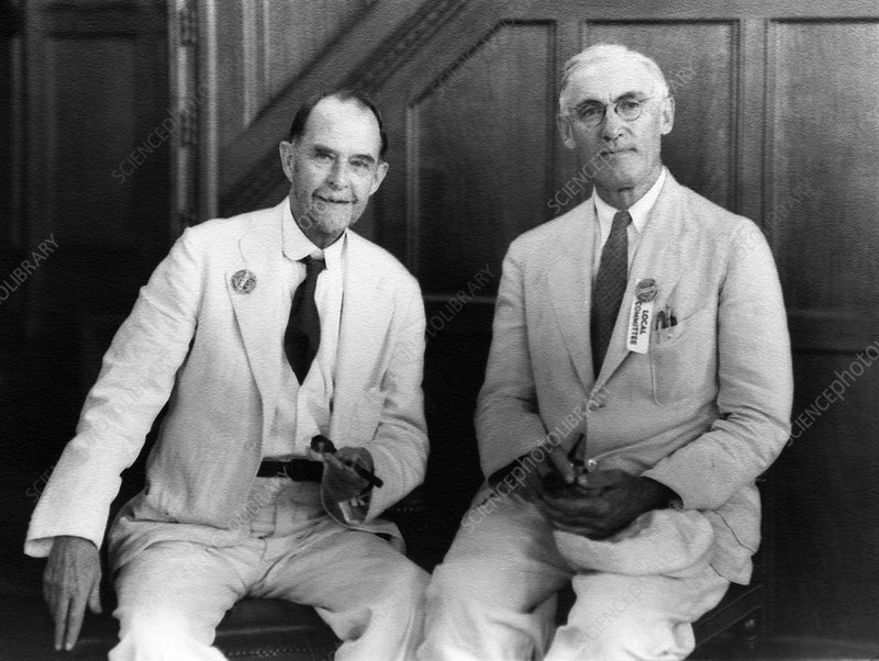 Morgan and Emerson, US geneticists