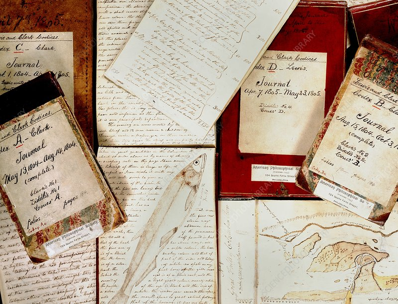 Lewis and Clark Expedition journals