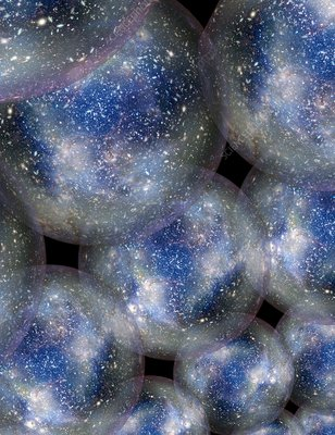 Bubble universes, illustration