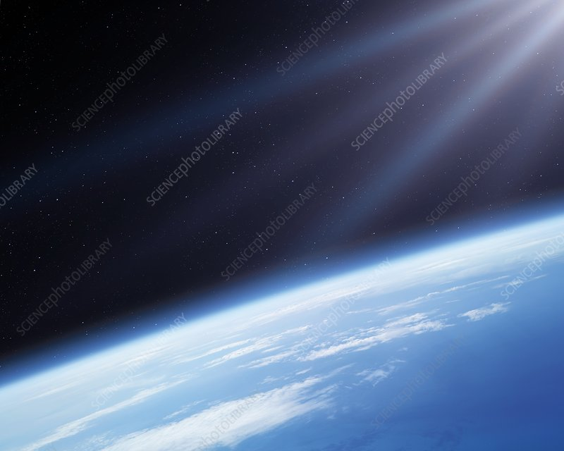 Earth's atmosphere, illustration