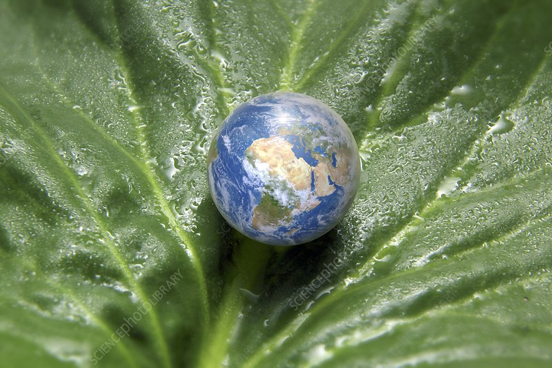 Earth and nature, conceptual image