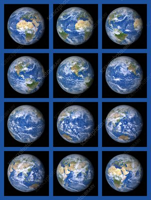 One Earth day, illustration