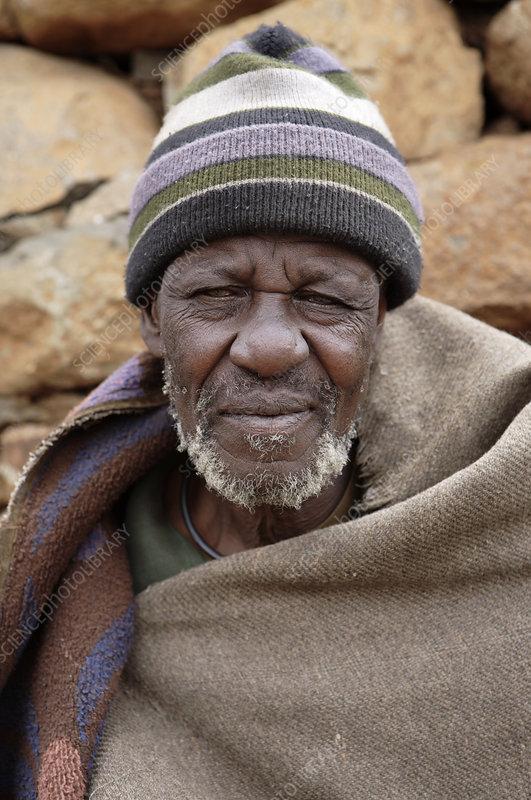 Basotho man