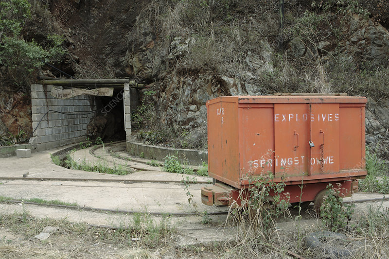 Abandoned gold mine, South Africa