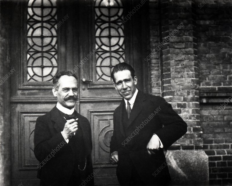 Sommerfeld and Bohr, physicists