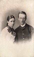 Max Planck and wife