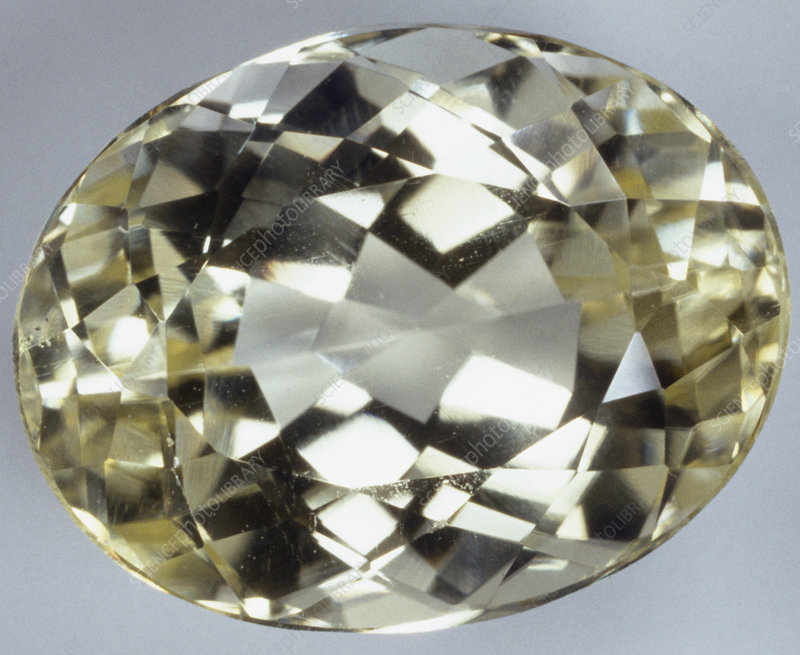 Jew Detector: Oval Brilliant-cut Amblygonite