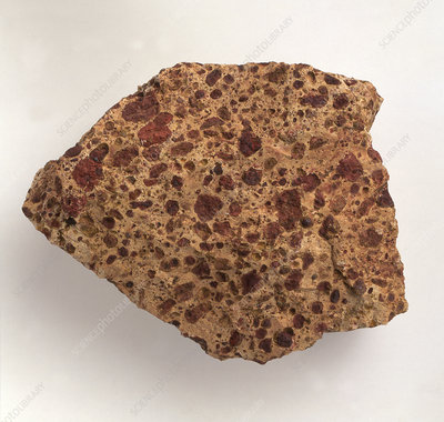 Bauxite, close-up