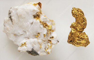 Gold in Quartz
