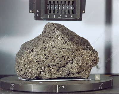 'Goodwill' lunar rock sample