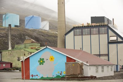 A coal fired power station, Longyearbyen