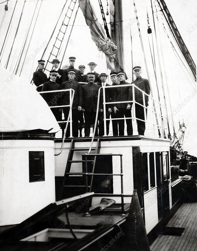Crew of Carnegie research vessel