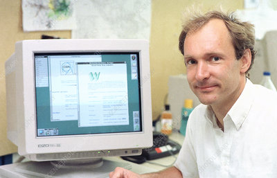 Tim Berners-Lee, computer scientist