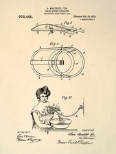 Breast douche patent, 1910