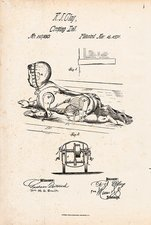 Creeping doll patent, 1871