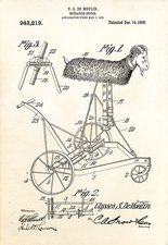 Initiation device patent, 1909