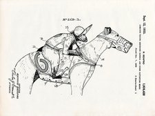 Greyhouse racing patent, 1933