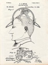 Saluting hat patent, 1896