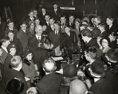 Royal Institution Christmas Lecture, 1931