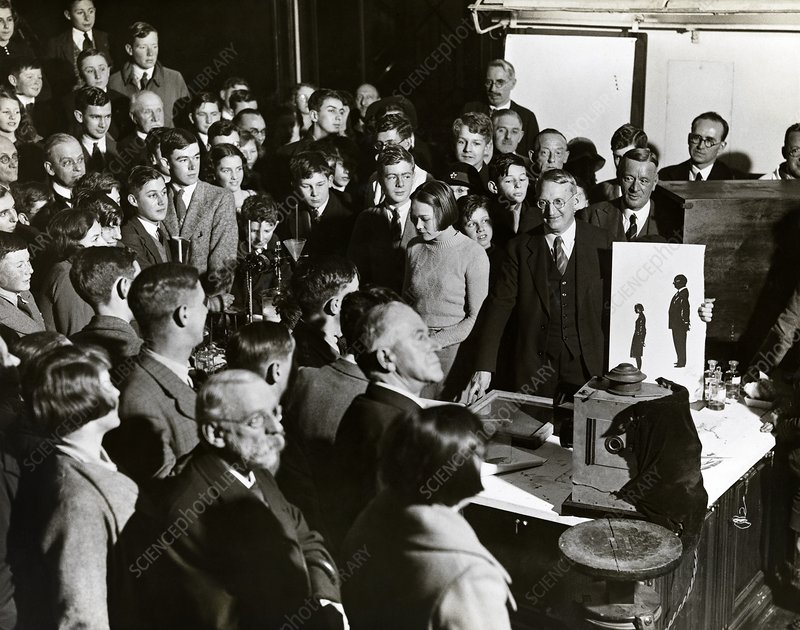 Royal Institution Christmas Lecture, 1935