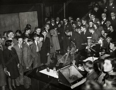 Royal Institution Christmas Lecture, 1937