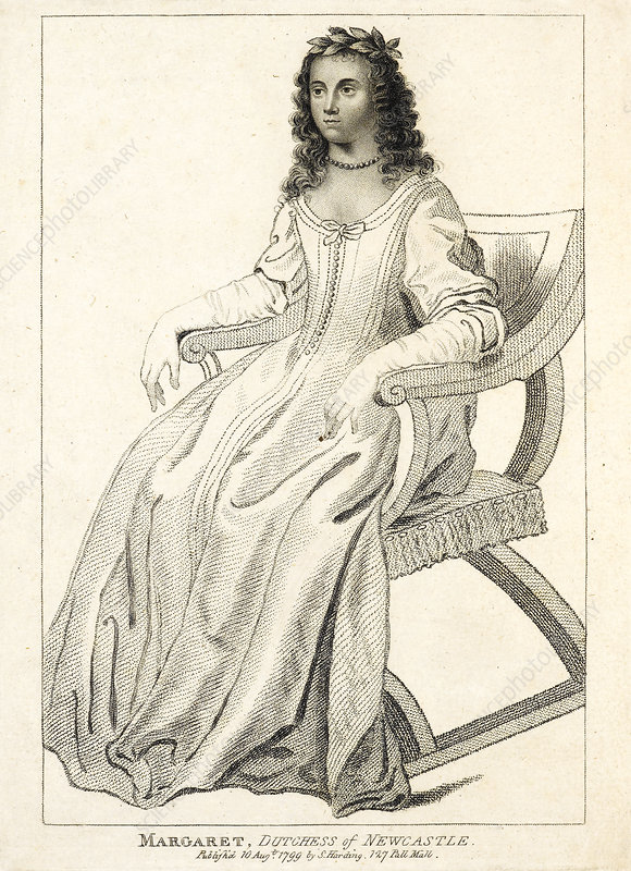 Margaret Cavendish, British philosopher