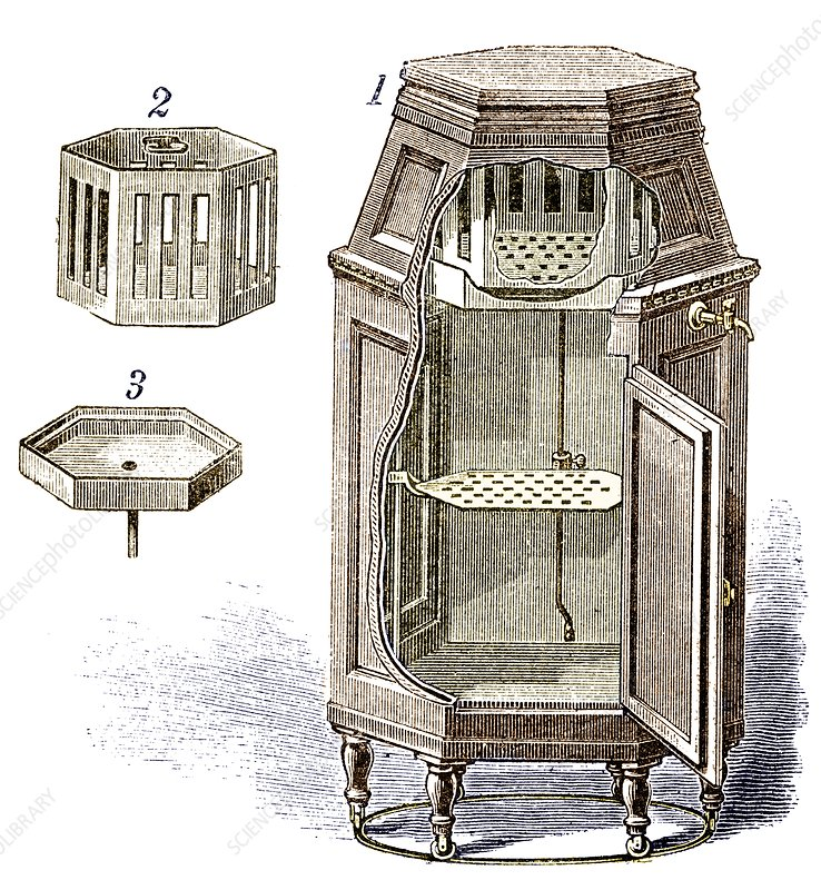 Early refrigerator, 19th century