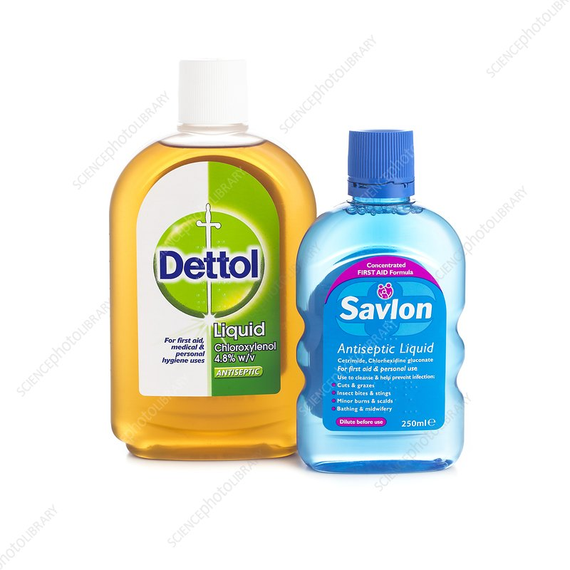 Domestic antiseptic products