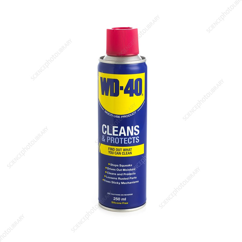WD-40 oil spray can