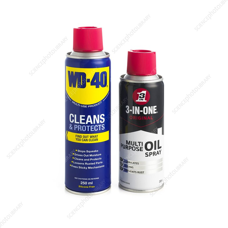 Oil in spray cans