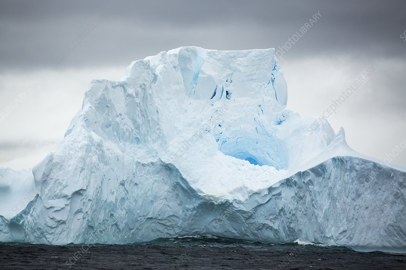 Icebergs off the South Orkney Islands