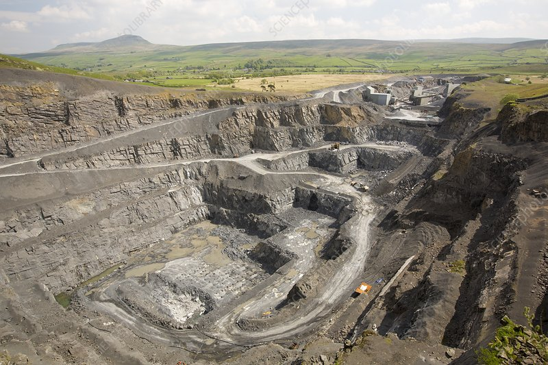 Dry Rigg Quarry at Helwith Bridge