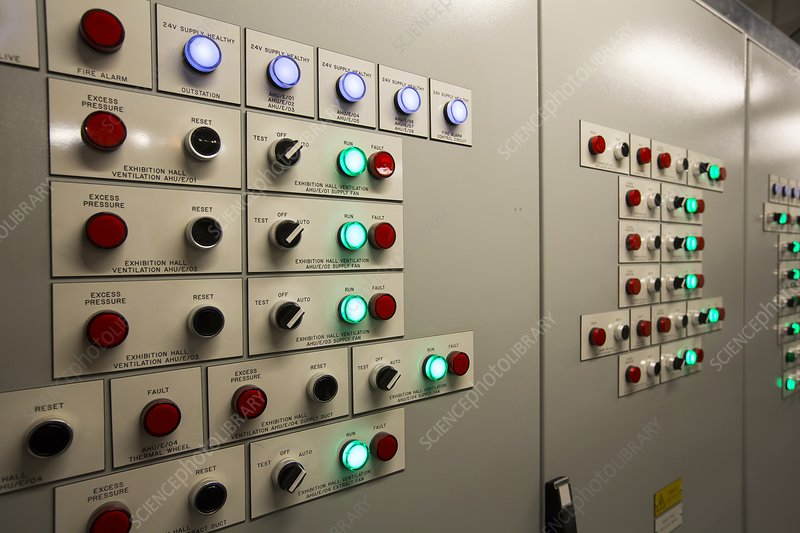 A building control panel