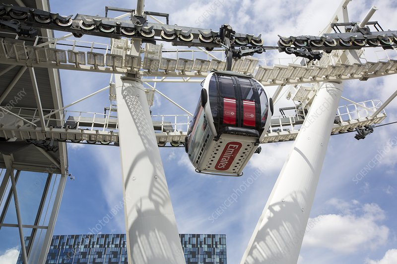 The Emirates Air line cable car