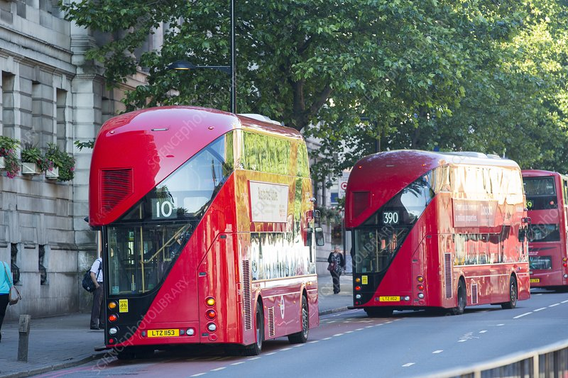 New Routemaster bus, London, UK